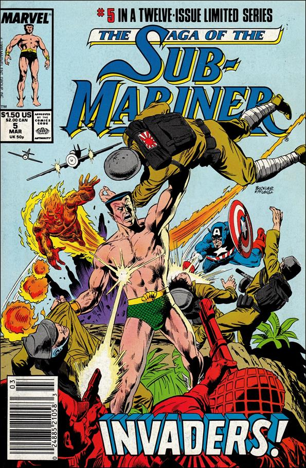 Saga of the Sub-Mariner 5-A by Marvel