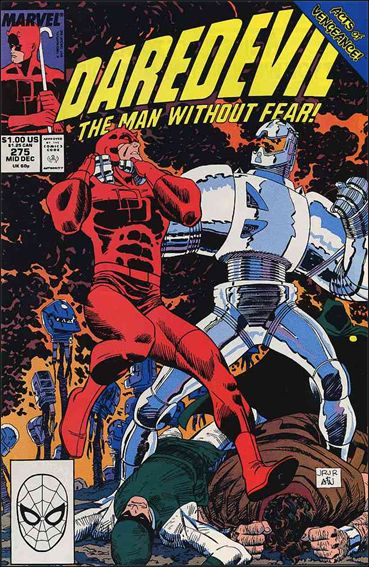 Daredevil (1964) 275-A by Marvel