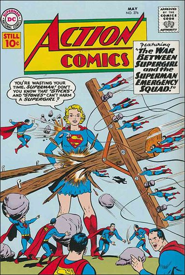 Action Comics (1938) 276-A by DC