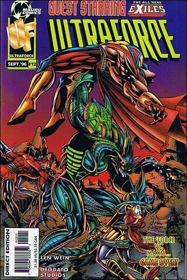 UltraForce 12 A, Sep 1996 Comic Book by Malibu