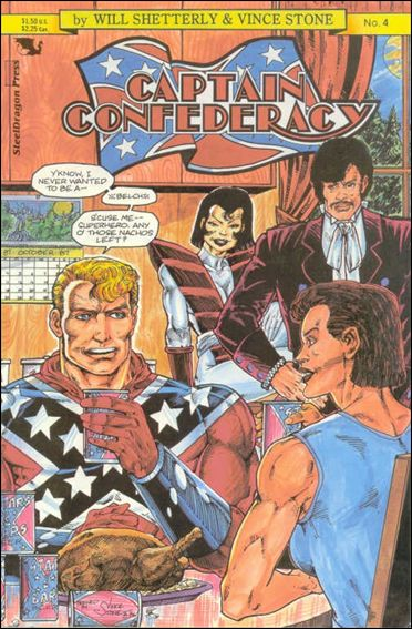 Captain Confederacy (1986) 4-A by SteelDragon Press