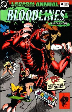 Legion of Super-Heroes Annual 4'-A