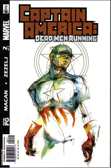 Captain America: Dead Men Running 2-A by Marvel