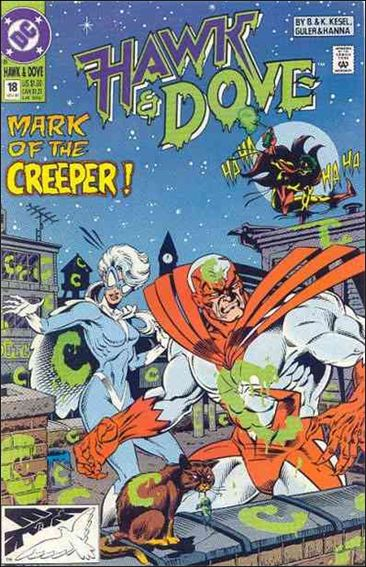 Hawk and Dove (1989) 18-A by DC