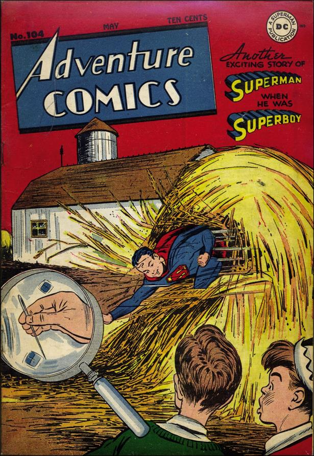 Adventure Comics (1938) 104-A by DC