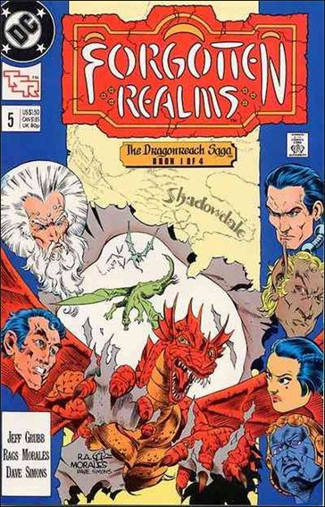 Forgotten Realms 5-A by DC