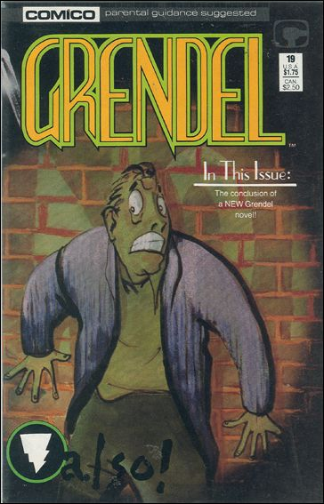 Grendel (1986) 19-A by Comico