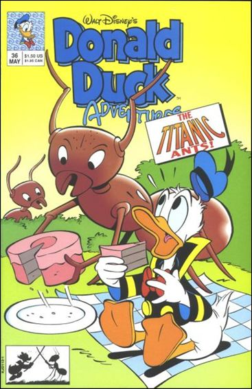 Donald Duck Adventures (1990) 36-A by Disney