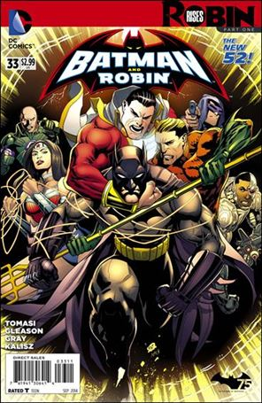 Batman and Robin (2011) 33-A