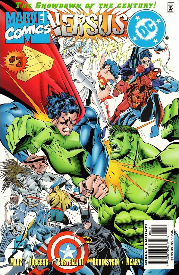 Marvel Versus DC/DC Versus Marvel 3-A by Marvel
