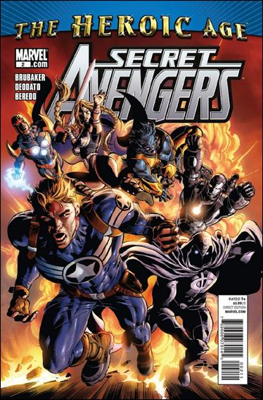 Secret Avengers (2010) 2-A by Marvel