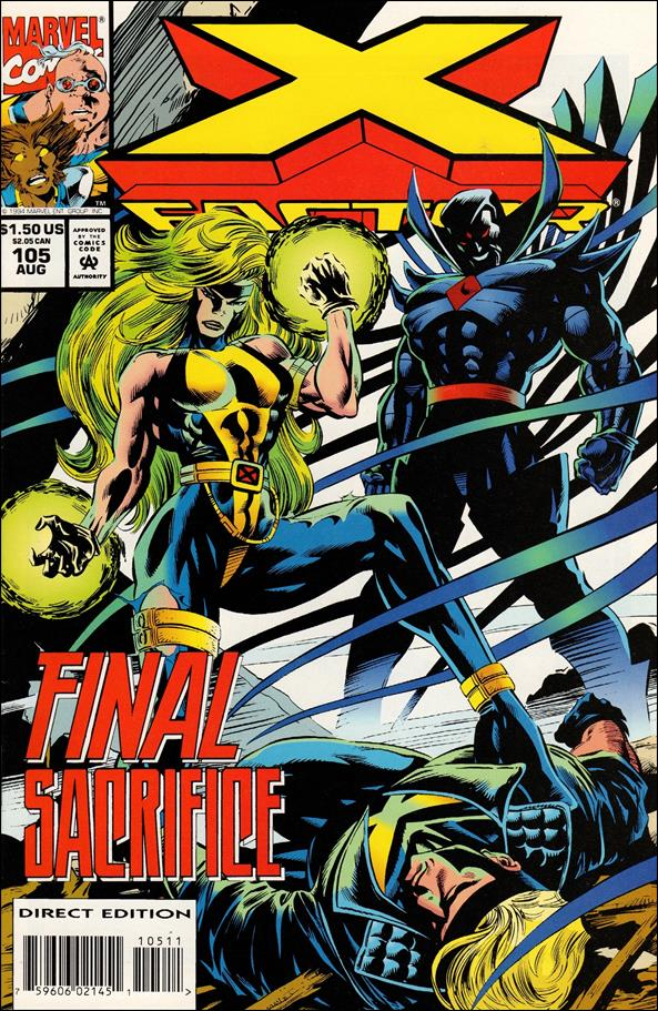 X-Factor (1986) 105-A by Marvel