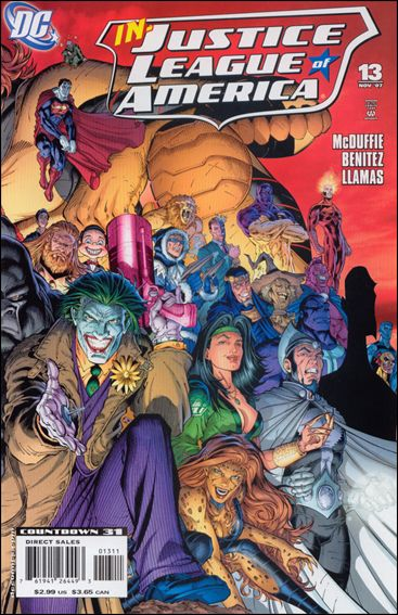 Justice League of America (2006) 13-B by DC