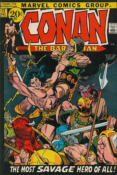 Conan the Barbarian (1970) 12-A by Marvel