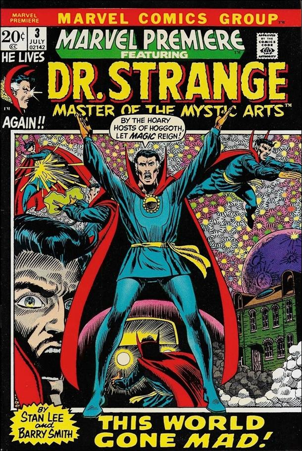 Marvel Premiere 3-A by Marvel
