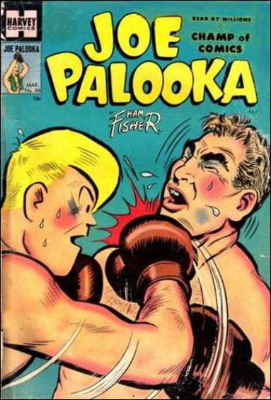 Joe Palooka (1945) 88-A by Harvey