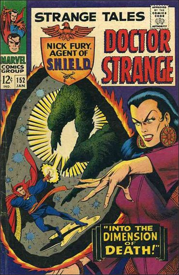 Strange Tales (1951) 152-A by Marvel