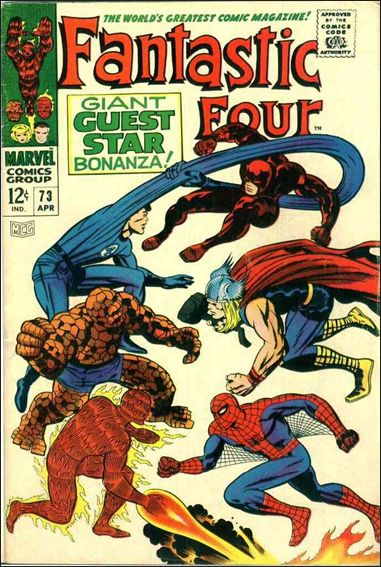 Fantastic Four (1961) 73-A by Marvel