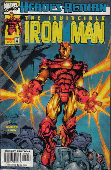 Iron Man (1998) 2-B by Marvel