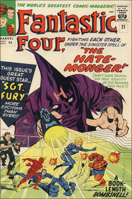 Fantastic Four (1961) 21-B by Marvel