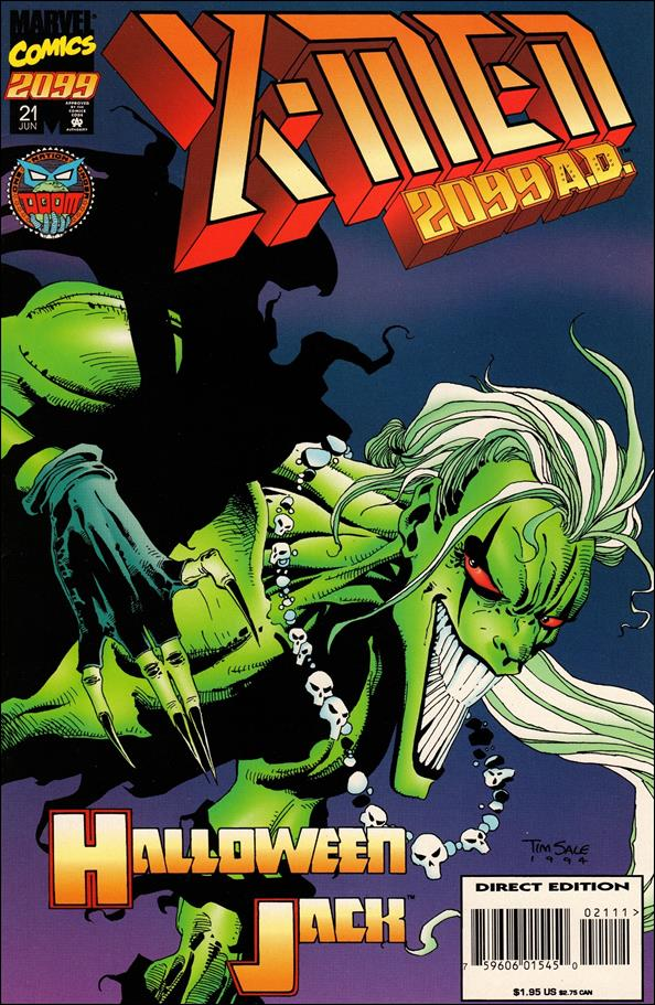 X-Men 2099 21-A by Marvel