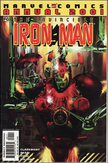 Iron Man Annual 2001-A by Marvel