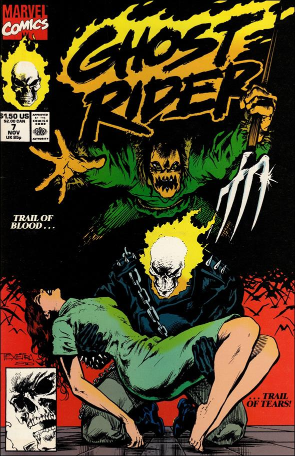 Ghost Rider (1990) 7-A by Marvel
