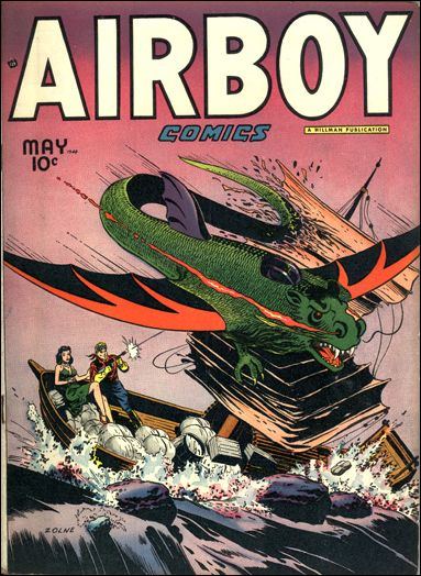 Airboy Comics (1948) 4-A by Hillman