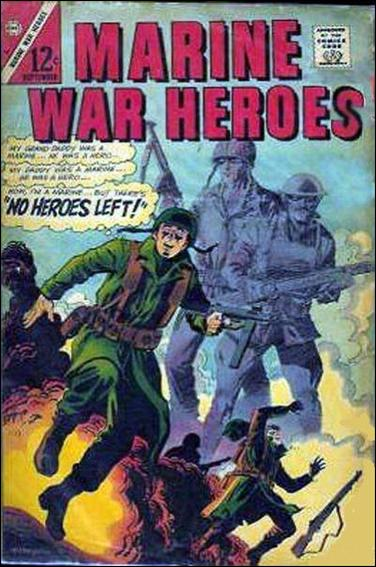 Marine War Heroes 15-A by Charlton