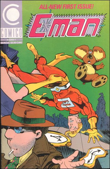 E-Man (1989) 1-A by Comico