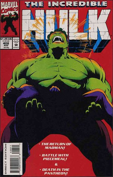 Incredible Hulk (1968) 408-A by Marvel