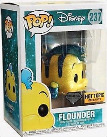 POP! Disney Flounder (Diamond Collection) Hot Topic by Funko