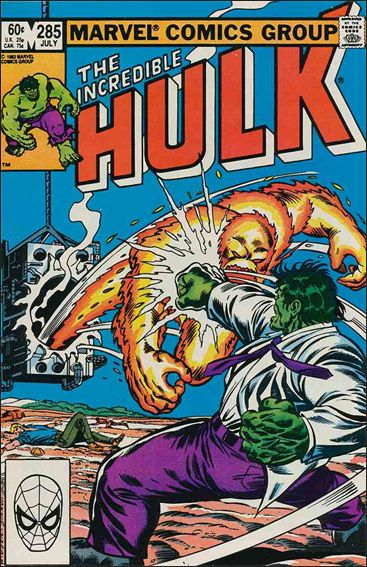 Incredible Hulk (1968) 285-A by Marvel