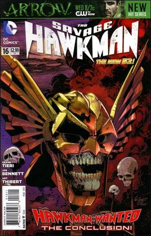 Savage Hawkman 16-A by DC