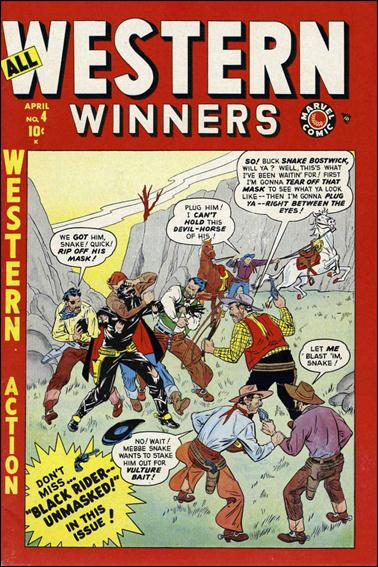 All Western Winners 4-A by Marvel