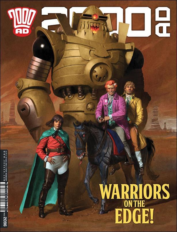 2000 A.D. (UK) 2096-A by Rebellion