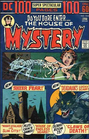 House of Mystery (1951) 224-A by DC