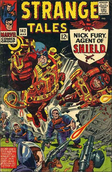 Strange Tales (1951) 142-A by Marvel