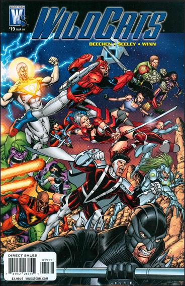 Wildcats (2008) 19-A by WildStorm