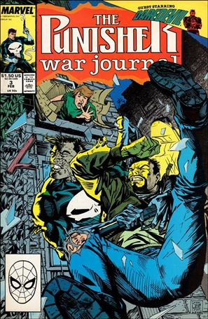 Punisher War Journal (1988) 3-A