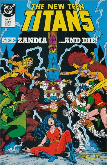 New Teen Titans (1984) 27-A by DC