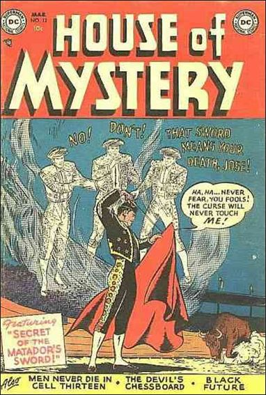 House of Mystery (1951) 12-A by DC