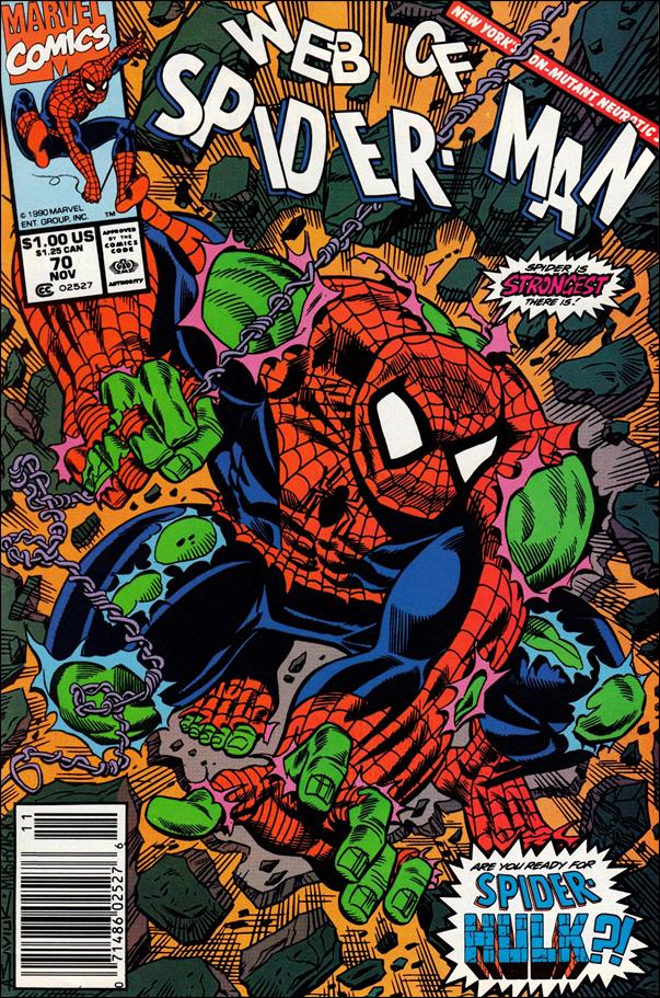 Web of Spider-Man (1985) 70-A by Marvel