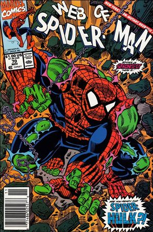 Web of Spider-Man (1985) 70-A
