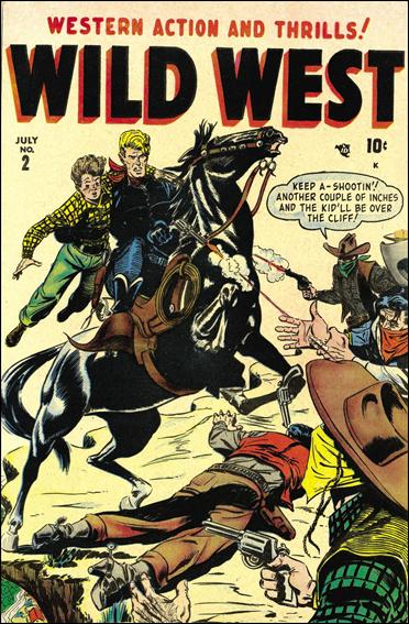 Wild West 2-A by Marvel