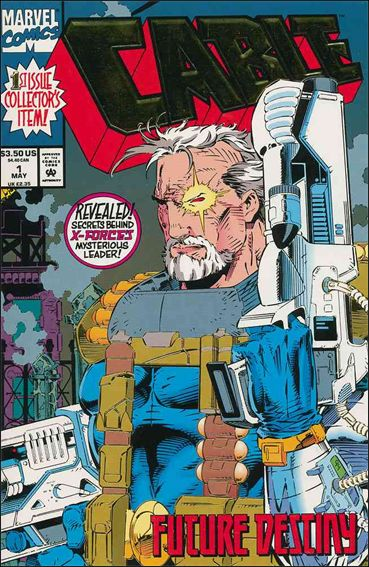 Cable (1993) 1-A by Marvel