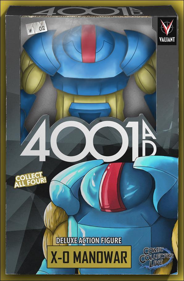 4001 A.D. 2-J by Valiant Entertainment