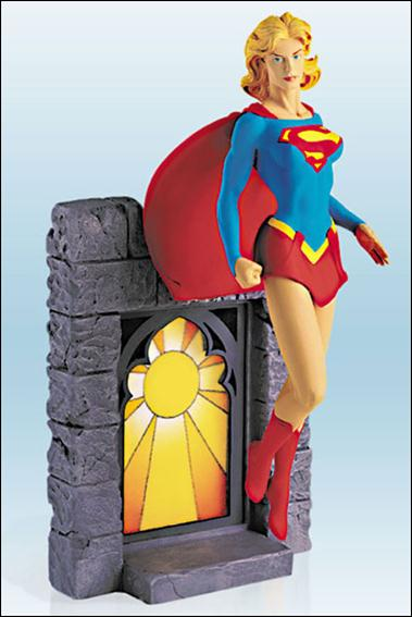 Supergirl Mini Statues Gary Frank's Supergirl by DC Direct