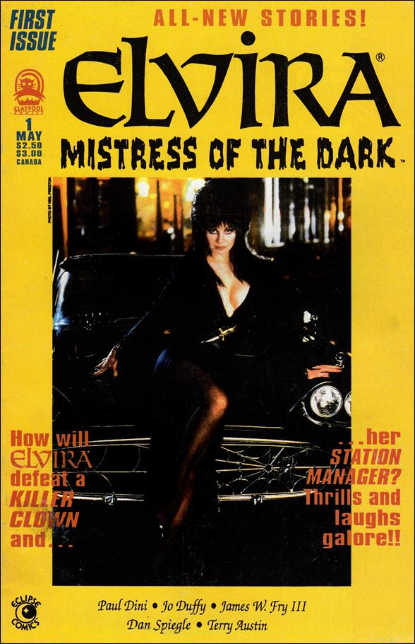Elvira, Mistress of the Dark (1993) 1-A by Claypool