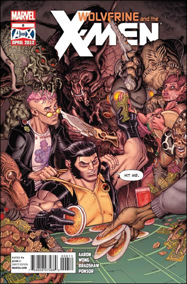Wolverine & the X-Men 6-A by Marvel